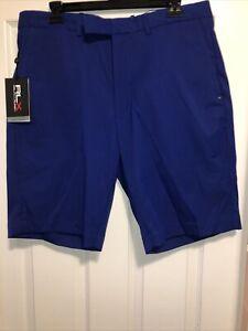 New W/tags RLX RALPH LAUREN Men's Blue Golf Short Size: 34