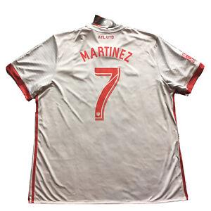 2017 Atlanta United Away Jersey #7 Martinez 2XL Adidas Inaugural Season MLS NEW