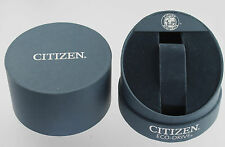 Citizen Echo Drive Watch Box Cylindrical  For Storage Travel Display & Pillow