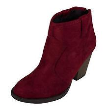 Women's Suede Block Boots
