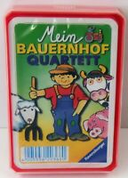 Ravensburger Mein Bauernhof Quartett - Kartenspiel