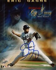 ERIC GAGNE SIGNED 8X10 PHOTO DODGERS COA