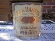 1ea. VINTAGE  JACK DANIEL'S/SMIRNOFF/CHIVAS  ADIVERTISING  ON  SIPPER  GLASS.