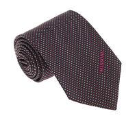 Missoni U5032 Red/Black Shepherd's Check 100% Silk Tie