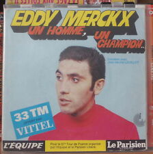 EDDY MERCKX FLEXI-DISC PUBLICITAIRE VITTEL FRENCH PRESS