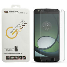 For Motorola Moto Z Play - Clear 9H Hardness Tempered Glass Screen Protector