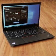 Lenovo ThinkPad T480s Laptop i7-8650U 1.9GHz 16GB 14 FHD 1920x1080 256GB SSD WTY