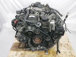 ☑️ 06-09 Mercedes W211 E350 Engine Motor Assembly AWD 4Matic M272 OEM