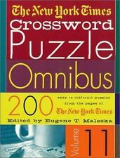 The New York Times Crossword Puzzle Omnibus Vol. 11