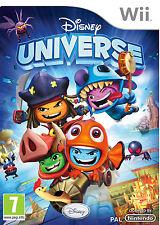 DISNEY UNIVERSE TEXTOS EN CASTELLANO NUEVO PRECINTADO  Wii