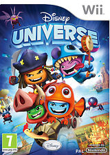 Nintendo Wii PAL version Disney Universe