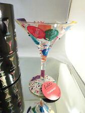 Lolita Martini Glass - Celebrate Martini Glass  NEW IN BOX