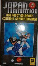 VHS - DE AGOSTINI/ JAPAN ANIMATION - VOLUME SPECIALE - UFO ROBOT GOLDRAKE