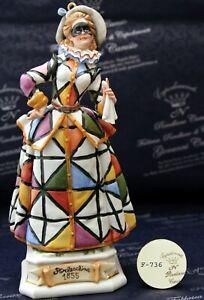 Maschera Arlecchina - Capodimonte Porcellane Carusio