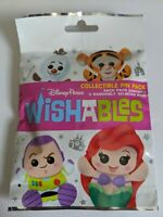 Wishables Collectible Pin Pack Disney Pin Trading Mystery Pin Pack 5 Pins SEALED