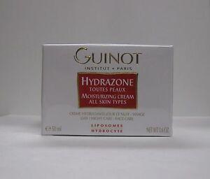 Guinot Hydrazone Moisturizing Cream  - 50 ml / 1.6 oz  ( All Skin Types ) New