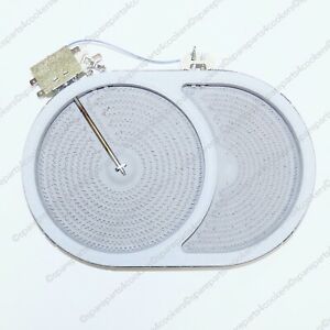 BRITANNIA by ILVE Dual Zone Oval Ceramic Hob Element 2400 / 1500W A45886