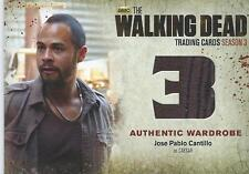 Walking Dead Card Season 3 Part 2 Jose Pablo Cantillo Caesar #M48 Wardrobe