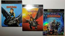 How to Train Your Dragon 3 (DVD, Includes Digital Copy 4K Ultra HD Blu-ray/Blu-ray)