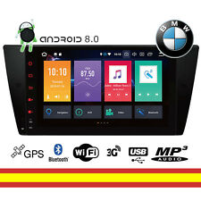 Pantalla BMW Serie 3 E90 Android 8 Octacore WIFI Bluetooth GPS Soporta 4G OBD2