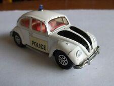 Corgi Whizzwheels Volkswagen 1200 Saloon Beetle Police VGC