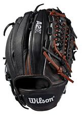 "Wilson Baseball 11.75"" A2K D33 SS Glove Mitt Pitcher Model 2019 Black LHT"