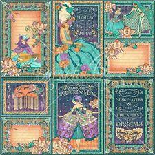 Graphic 45 Midnight Masquerade Journaling & Ephemera Cards - 313881