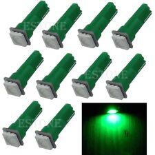 10pcs Green T5 5050 1SMD Wedge Dashboard LED Light Bulb 2721 74 73 70 17 18 37