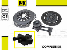 FOR FORD FIESTA FUSION PETROL 02-08 CLUTCH KIT CSC SLAVE BEARING MASTER CYLINDER
