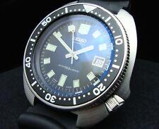 Vintage Seiko divers 6105 8110 HACKING BLUE TINT SAPPHIRE, MARTIN SHEENE K77.