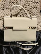 Authentic Delvaux Tempete Studded Beige Handbag