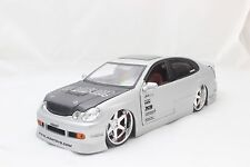 JADA IMPORT RACER LEXUS GS430 SILVER 1/24 DIECAST CAR NEW WITHOUT BOX/ RARE ITEM