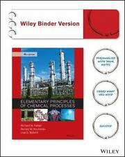 Elementary Principles of Chemical Processes by Lisa G. Bullard, Richard M....