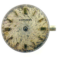 LONGINES SEVENTEEN (17) JEWELS CAL. 4LLV MOVEMENT AND DIAL FOR PARTS OR REPAIRS