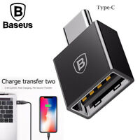 Baseus USB Female to Type C Male Adapter OTG Converter for Huawei Mate Xiaomi