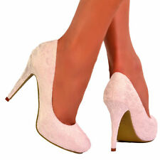 Stiletto Bridal or Wedding Standard (D) Shoes for Women