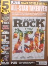 Classic Rock Magazine Issue 250 July 2018 - Hendrix, Queen with CD, Posters