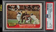 1965 Topps Mickey Mantle WORLD SERIES GAME 3 #134 PSA 4 VGEX (PWCC)