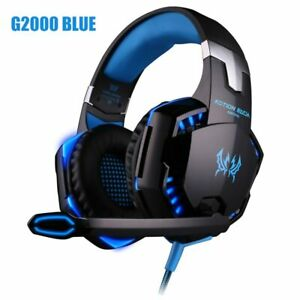 Headset over-ear Wired Game Earphones Deep bass Stereo Casque with Microphone