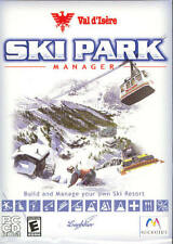 Ski Park Manager (Pc Sim Game) Build your own snowboard resort Free Us Shipping
