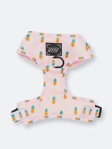 Sassy Woof Pink Pineapple Puppy Colada Dog Harness - Medium