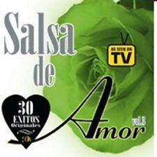 SALSA DE AMOR - 30 EXITOS ORIGINALES - 2CDS [CD]