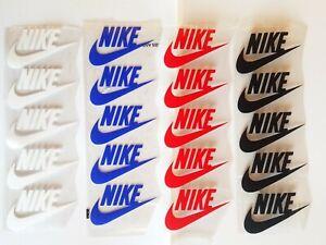 "20 pcs 4 colors  Iron Heat Press vinyl Flex Logo nike2""×3"" approx FREE SHIPPING"