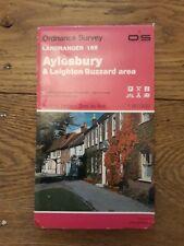 Ordnance Survey Landranger Map Sheet 165 Aylesbury & Leighton Buzzard area