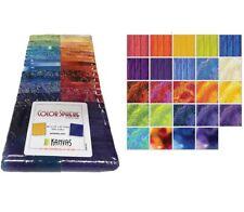 Color Sphere Strip Pie - Jelly Roll - Benartex Fabrics