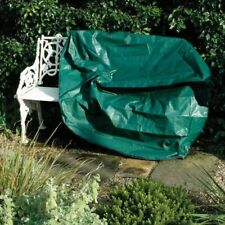 Durable Waterproof Green 2 Seater Garden Bench Seat Protection Cover