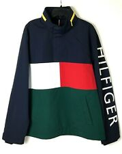 New Tommy Hilfiger Archives Mens Large Colorblock Nylon...