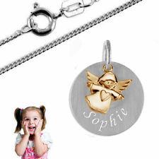 Taufkette,Kinderkette,Gravur PlattE mit Schutzengel,Silber925- Kette und Gravur