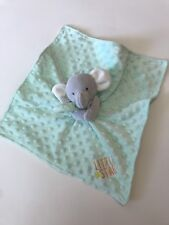 Lovie Security Blanket Carters Elephant Green Little Star Lovey Child of Mine