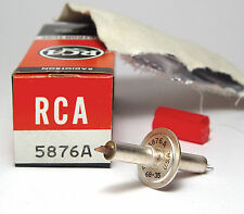 Rca vitres-triode 5876a, uhf tube pour collectionneur, 5876 jupe tube, riaa, nos